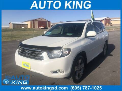 2009 Toyota Highlander for sale at Auto King in Rapid City SD