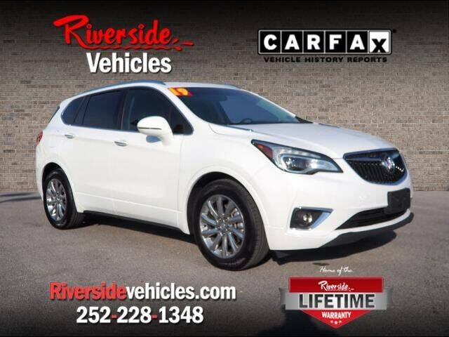 2019 Buick Envision for sale at Riverside Mitsubishi(New Bern Auto Mart) in New Bern NC