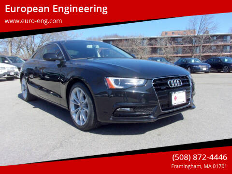 2014 Audi A5 for sale at European Engineering in Framingham MA