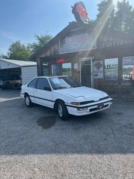 1989 Acura Integra for sale at LEE AUTO SALES in McAlester OK