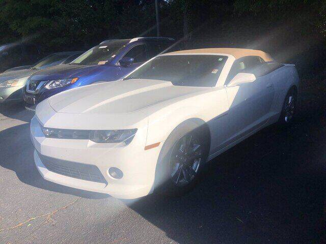 2015 Chevrolet Camaro for sale at Summit Credit Union Auto Buying Service in Winston Salem NC