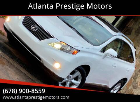2011 Lexus RX 350 for sale at Atlanta Prestige Motors in Decatur GA