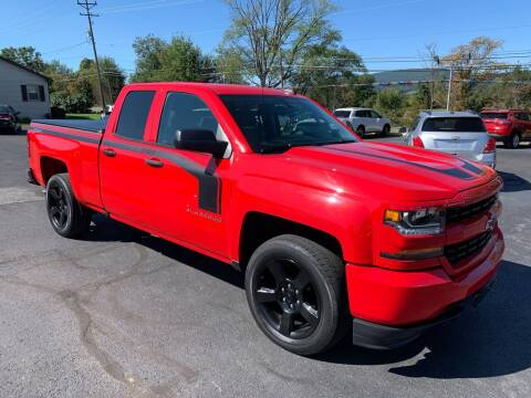 2017 Chevrolet Silverado 1500 for sale at MAGNUM MOTORS in Reedsville PA