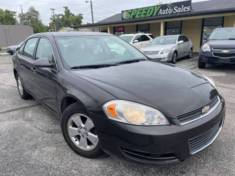 2008 Chevrolet Impala for sale at speedy auto sales in Indianapolis IN