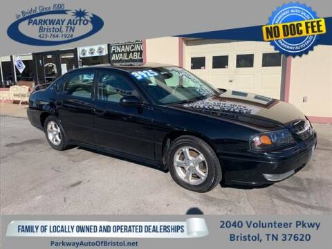 2004 Chevrolet Impala for sale at PARKWAY AUTO SALES OF BRISTOL in Bristol TN