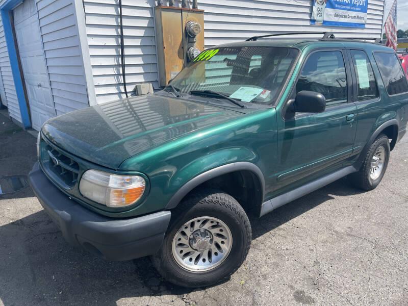 1999 Ford Explorer for sale at American Dream Motors in Everett WA