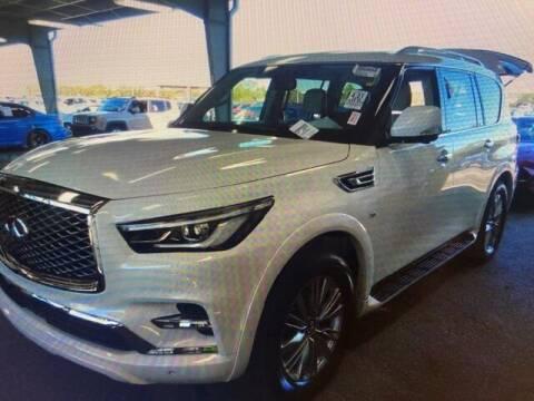 2018 Infiniti QX80 for sale at JOE BULLARD USED CARS in Mobile AL