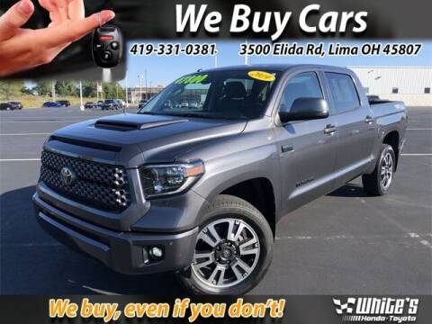 2019 Toyota Tundra for sale at White's Honda Toyota of Lima in Lima OH