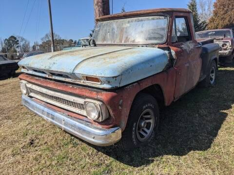 1966 Chevrolet C/K 10 Series for sale at Classic Cars of South Carolina in Gray Court SC