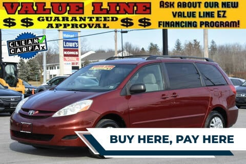 2006 Toyota Sienna for sale at Broadway Garage of Columbia County Inc. in Hudson NY