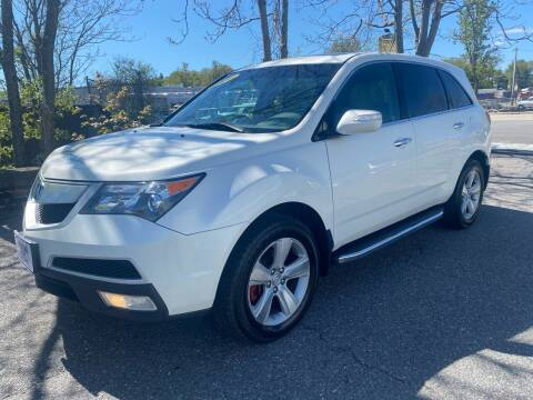 2011 Acura MDX for sale at ANDONI AUTO SALES in Worcester MA