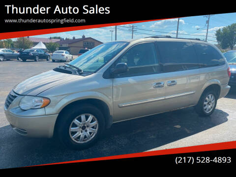 2007 Chrysler Town and Country for sale at Thunder Auto Sales in Springfield IL