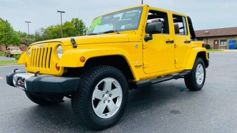 2011 Jeep Wrangler for sale at TOP YIN MOTORS in Mount Prospect IL
