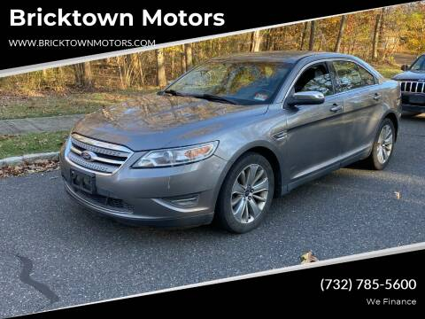 2011 Ford Taurus for sale at Bricktown Motors in Brick NJ
