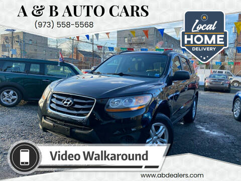 2011 Hyundai Santa Fe for sale at A & B Auto Cars in Newark NJ