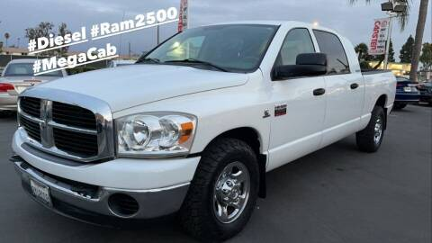 2007 Dodge Ram Pickup 2500 for sale at CARSTER in Huntington Beach CA