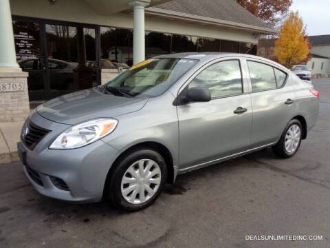 2013 Nissan Versa for sale at DEALS UNLIMITED INC in Portage MI
