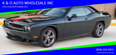 2014 Dodge Challenger for sale at K & O AUTO WHOLESALE INC in Jacksonville FL