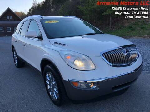 2012 Buick Enclave for sale at Armenia Motors in Seymour TN