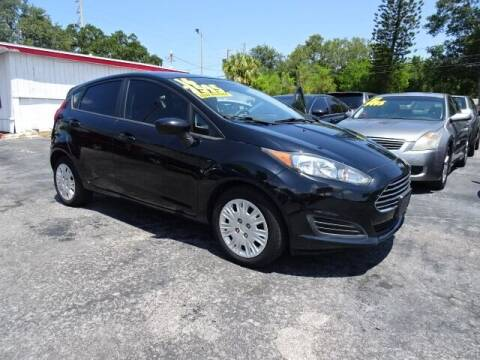 2016 Ford Fiesta for sale at DONNY MILLS AUTO SALES in Largo FL
