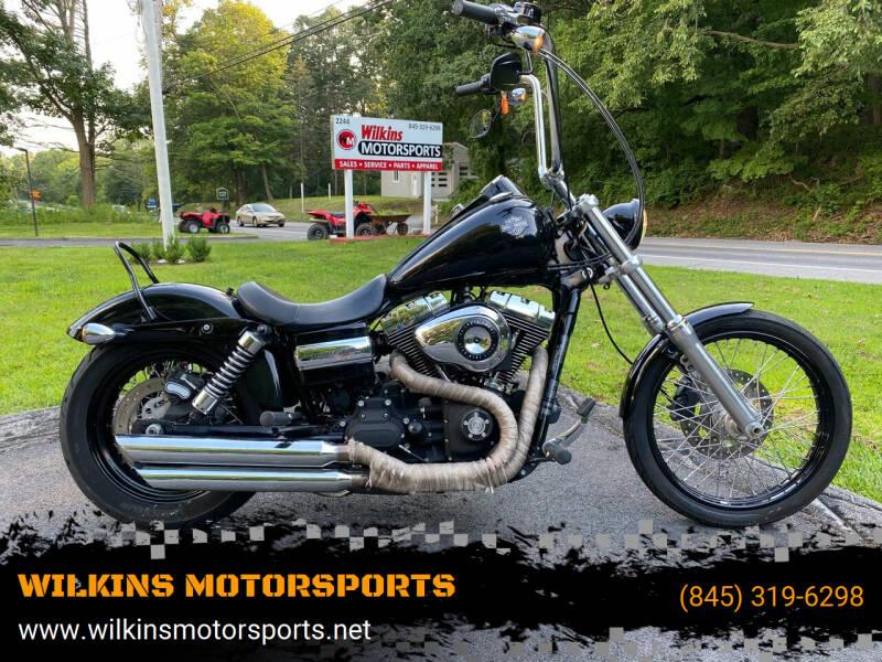 2011 Harley-Davidson Dyna Wide Glide for sale at WILKINS MOTORSPORTS in Brewster NY