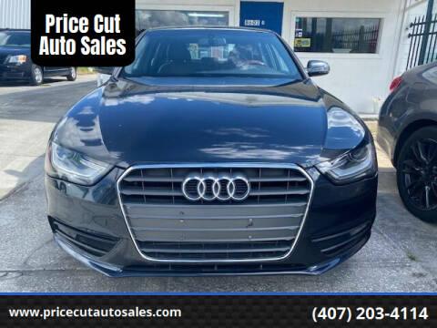 2013 Audi A4 for sale at Price Cut Auto Sales in Orlando FL
