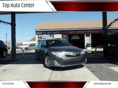 2012 Toyota Camry for sale at Top Auto Center in Quakertown PA
