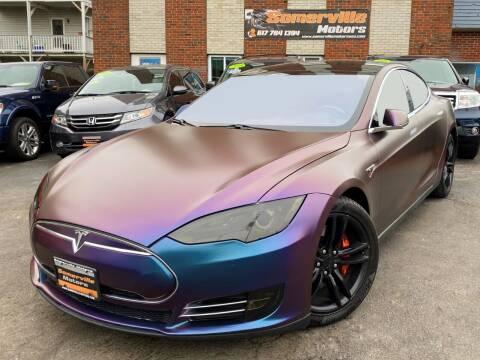 2014 Tesla Model S for sale at Somerville Motors in Somerville MA