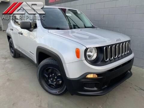 2017 Jeep Renegade for sale at Auto Republic Fullerton in Fullerton CA