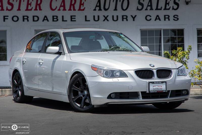 2005 BMW 5 Series for sale at Mastercare Auto Sales in San Marcos CA