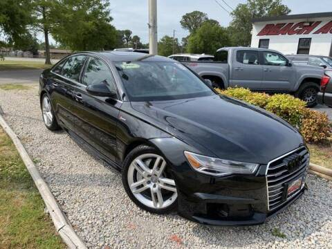 2016 Audi A6 for sale at Beach Auto Brokers in Norfolk VA