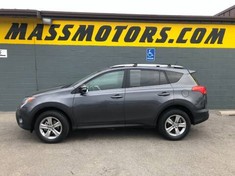 2015 Toyota RAV4 for sale at M.A.S.S. Motors - Fairview in Boise ID