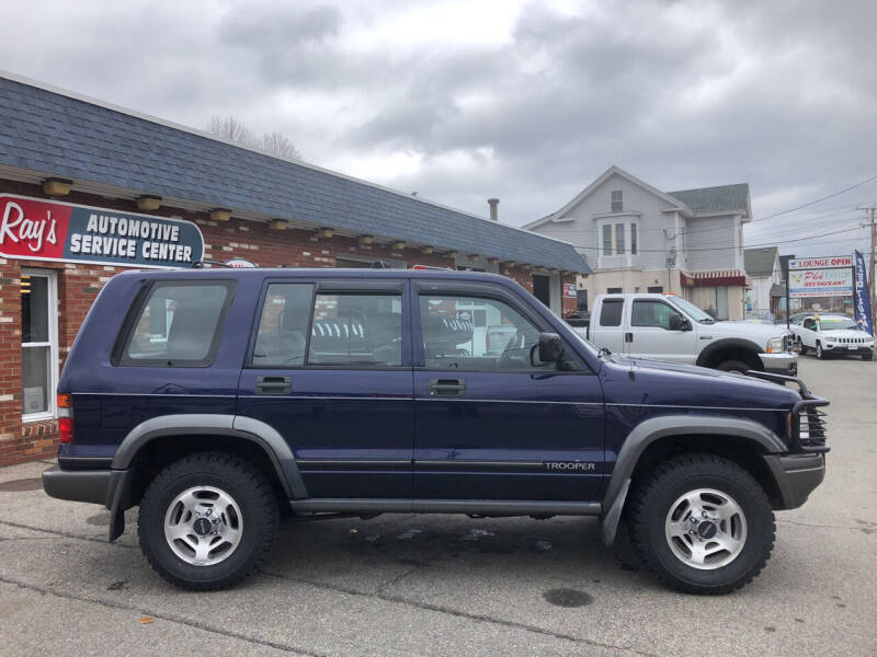 1996 Isuzu Trooper for sale at RAYS AUTOMOTIVE SERVICE CENTER INC in Lowell MA