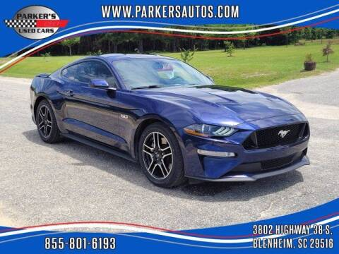2019 Ford Mustang for sale at Parker's Used Cars in Blenheim SC