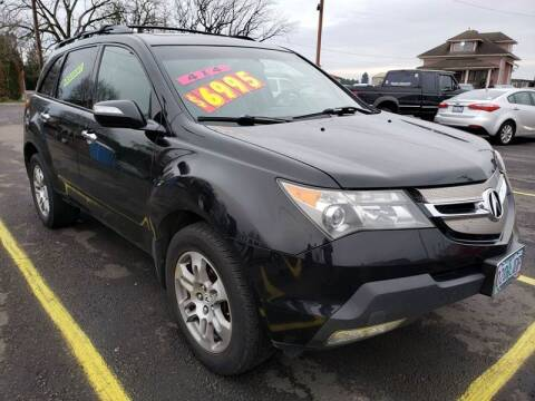 2007 Acura MDX for sale at Low Price Auto and Truck Sales, LLC in Salem OR