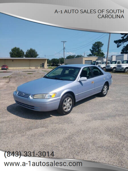 1997 Toyota Camry for sale at A-1 Auto Sales Of South Carolina in Conway SC