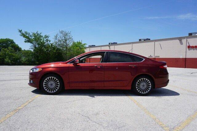2014 Ford Fusion for sale at O T AUTO SALES in Chicago Heights IL