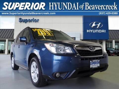 2014 Subaru Forester for sale at Superior Hyundai of Beaver Creek in Beavercreek OH