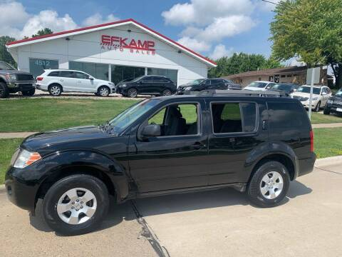 2011 Nissan Pathfinder for sale at Efkamp Auto Sales LLC in Des Moines IA