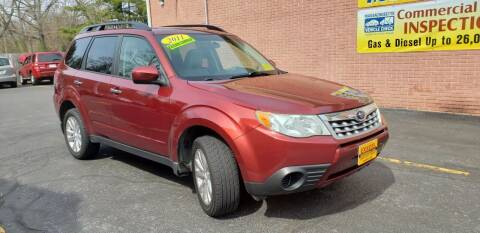 2011 Subaru Forester for sale at Exxcel Auto Sales in Ashland MA