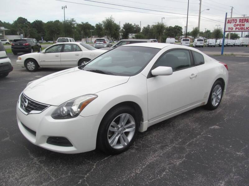 2012 Nissan Altima for sale at Blue Book Cars in Sanford FL