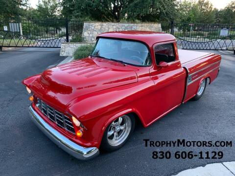1956 Chevrolet C/K 10 Series for sale at TROPHY MOTORS in New Braunfels TX