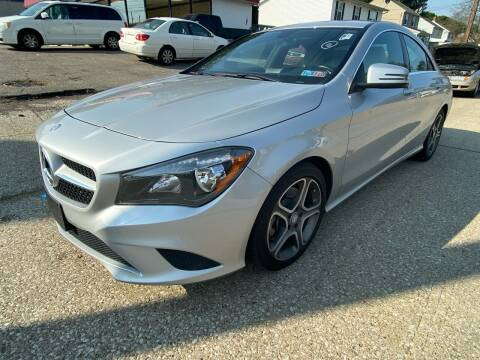 2014 Mercedes-Benz CLA for sale at GREENLIGHT AUTO SALES in Akron OH