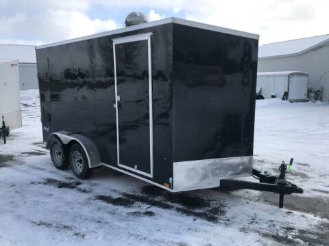 2021 Pace American 7x14 V-nose Dual Axle for sale at Forkey Auto & Trailer Sales in La Fargeville NY