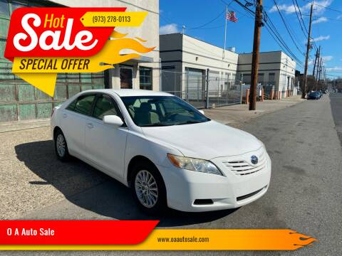 2007 Toyota Camry for sale at O A Auto Sale in Paterson NJ
