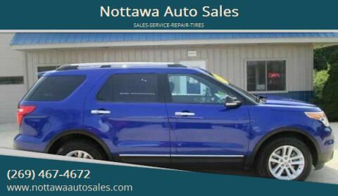 2013 Ford Explorer for sale at Nottawa Auto Sales in Nottawa MI