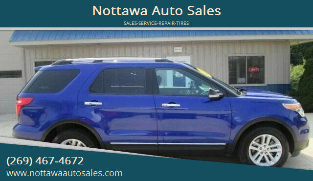 2013 Ford Explorer for sale at Nottawa Auto Sales in Nottawa MI