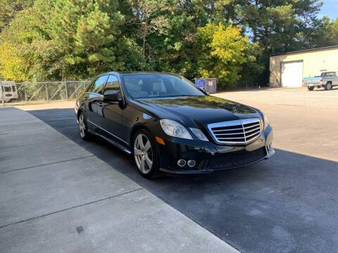 2010 Mercedes-Benz E-Class for sale at EMH Imports LLC in Monroe NC