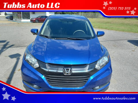 2018 Honda HR-V for sale at Tubbs Auto LLC in Tuscaloosa AL