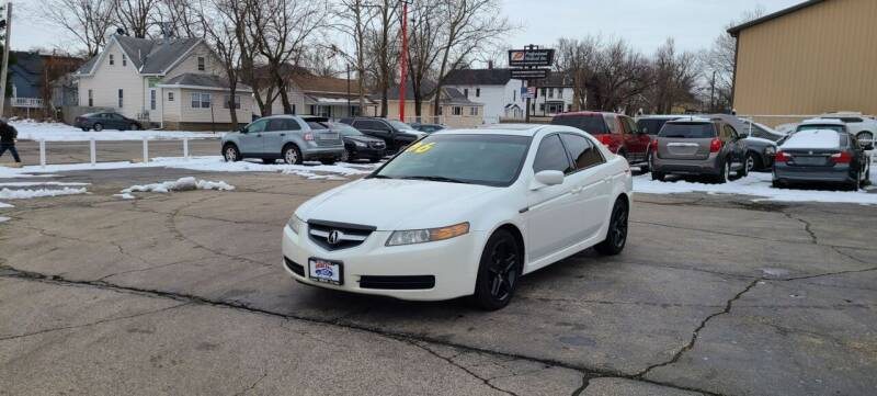 2006 Acura TL for sale at Bibian Brothers Auto Sales & Service in Joliet IL